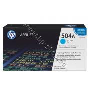 Тонер HP 504A за CP3525/CM3530, Cyan (7K), p/n CE251A - Оригинален HP консуматив - тонер касета