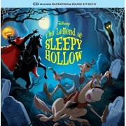 The Legend of Sleepy Hollow [With Audio CD], Paperback/Disney Book Group