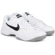 Nike COURT LITE Tennis Shoes For Men(White)