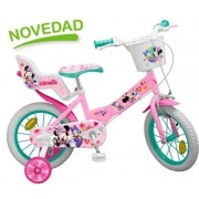 Bicicleta copii Toimsa Minnie Mouse Club House 14""