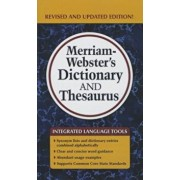 Merriam-Webster's Dictionary and Thesaurus, Hardcover/Merriam-Webster