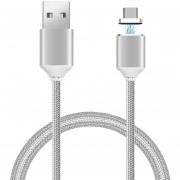Louiwill Nylon Trenzado Desmontable Magnético Adaptador USB Micro Con Cable De Transferencia De Datos De Carga Rápida Para Teléfonos Android Dispositivos