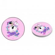 Disney vezeték nélküli töltő - Minnie 002 micro USB adatkábel 1m 9V/1.1A 5V/1A pink (DCHWMIN003)