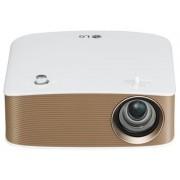 Videoproiector LG PH150G, 130 lumeni, 1280 x 720 HD, Contrast 100000:1, HDMI (Auriu)