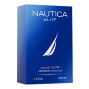 NAUTICA BLUE EAU DE TOILETTE SPRAY FOR MEN (3.4oz) 100ml