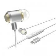 Casti cu fir si microfon Hama lightning plug white