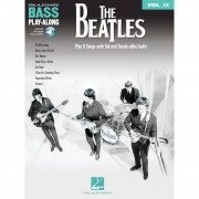 Hal Leonard - Bass Play-Along Volume 13: The Beatles