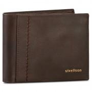 Nagy férfi pénztárca STRELLSON - Walker 4010001794 Dark Brown 702