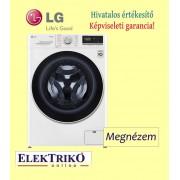 LG F4WN409S0 elöltöltős mosógép ,A+++ -30% energiaosztály, 9 kg kapacitás, gőzmosógép, Wifi funkció