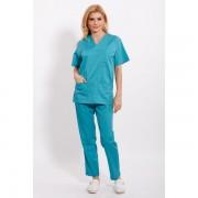 Costum medical turcoaz verde unisex