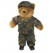 Obleček pro velkého plyšového medvídka - flecktarn