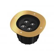 FLOS A-Round 240 Outdoor Vloerlamp - Goud Stralingshoek: 10°
