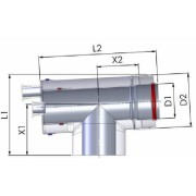 Tricox AAEE60C Alu/Alu Ellenőrző Egyenes 80/125