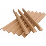 Coltare din Carton 1 m 50x50x4 mm 225 Buc/Bax Coltar din Carton Coltar de Protectie pentru Ambalat Paleti si Colete