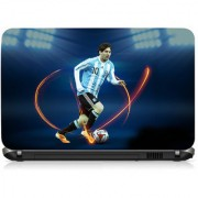VI Collections MESSI KICK THE BALL pvc Laptop Decal 15.6