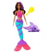 Papusa Mattel Barbie GGG59 Dreamtopia Sirena Teresa cu delfin