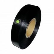Сатенена лента за етикетиране, 30 мм, черна