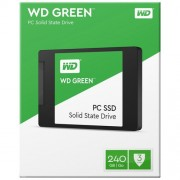 WD SSD Green 240GB, 2.5'', SATA III - WDS240G2G0A 2.5'', SATA III, 240GB, do 545 MB/s