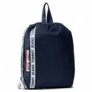 Раница TOMMY HILFIGER - Tm Logo Tape Drawstring Nyl AM0AM06071 Blu CBK