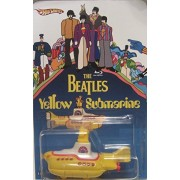 Hot Wheels CUSTOM THE BEATLES YELLOW SUBMARINE Limited Edition 1/25 Made!