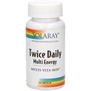 Solaray TwiceDaily-Multi-Energy - 60 Kapseln