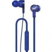 HUAWEI Honor AM15 sztereo headset - KÉK - 3,5mm jack, mikrofon, felvevõ és hangerõ szabályzó gombok - GYÁRI