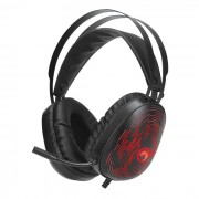 HEADPHONES, Marvo HG9049, Gaming, 7.1, Microphone, backlight, Black