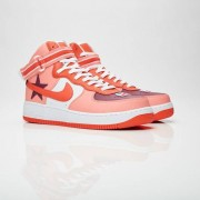 Nike Air Force 1 Hi x Riccardo Tisci Sunblush/Bordeaux/Team Orange/Black