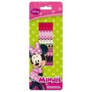 Set 5 creioane cu guma Minnie Mouse