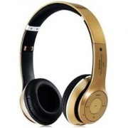 Vinimox S460 Wireless Bluetooth Headphone With FM Tuner AUX Compatible Micro SD Card Slot
