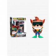 Funko Pop Crash Bandicoot with scuba gear Original