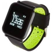 GARETT Smartwatch Sport 17 Czarno-zielony