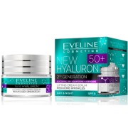 Eveline Hyaluron 4D 50+ nappali és éjszakai krém, 50 ml