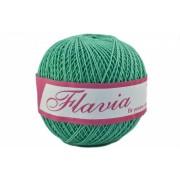 Fir de tricotat sau crosetat - Fire Bumbac 100% FLAVIA ROMANOFIR BOBINA VERDE 1249