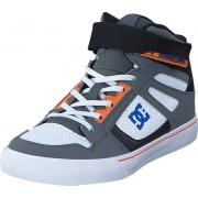 DC Shoes Dc Kids Spartan High Ev B Shoe Grey/Blue/White, Skor, Sneakers & Sportskor, Höga sneakers, Blå, Unisex, 27