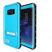 Sky Blue Waterproof Dirtproof Defender Case For Samsung Galaxy S8 Plus