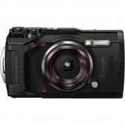 Digitalni fotoaparat Olympus Tough TG-6 12 MPix Zoom (optički): 4 x Crna GPS, Otporan na udarce, Vodootporno do 15 m, Otporan na