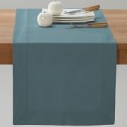 La Redoute Interieurs Caminho de mesa em meio-linho/algodão BORDERazul-tempestade- 50 x 150 cm