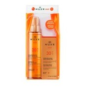 Sun óleo protetor solar de corpo spf30 150ml + creme rosto spf30 50ml - Nuxe