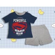 Pijama maneca scurta Superman Hero 3-8ani