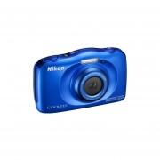 Camara Nikon Coolpix W100 13mp Sumergible Resiste A Golpes-Azul