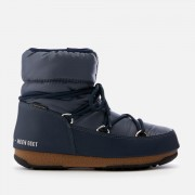Moon Boot Women's Low Nylon Waterproof Boots - Blue Denim - EU 37/UK 4