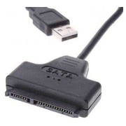 "2.5"" HDD USB 2.0 (2x) to SATA cable - External Hard Drive Case Replacement, Direct USB HDD Use"