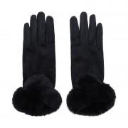 ComeGetFashion Handschoenen faux fur detail - Handschoenen