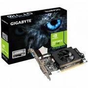 GIGABYTE Video Card GeForce GT 710 DDR3 2GB/64bit, 954MHz/1800MHz, PCI-E 2.0 x16, HDMI, DVI, VGA, Cooler, Low-profile, Retail GV-N710D3-2GL