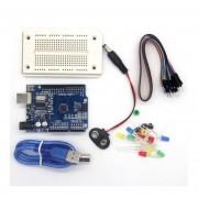Uno Compatible Con Alta Calidad Profesional Kit De Conjunto ONU Kit Para Arduino UNO R3 Starter Kit De Accesorios Completo-blanco