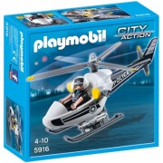 Elicopterul politiei City Action Police Playmobil
