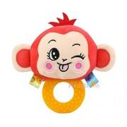 Kidsbele Baby Handbell Soft Rattle Toys Soft Lovely Animal Teether Toy For Newborn Intelligence Development Bell Ring Toys