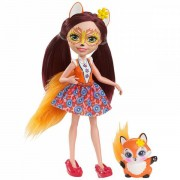 Papusa Mattel Enchantimals FELICITY FOX