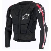 Alpinestars Bionic Plus Protector de chaqueta 2015 Negro Blanco XL